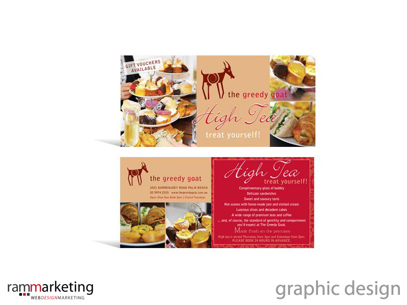 Graphic designer Northern Beaches - Postcard