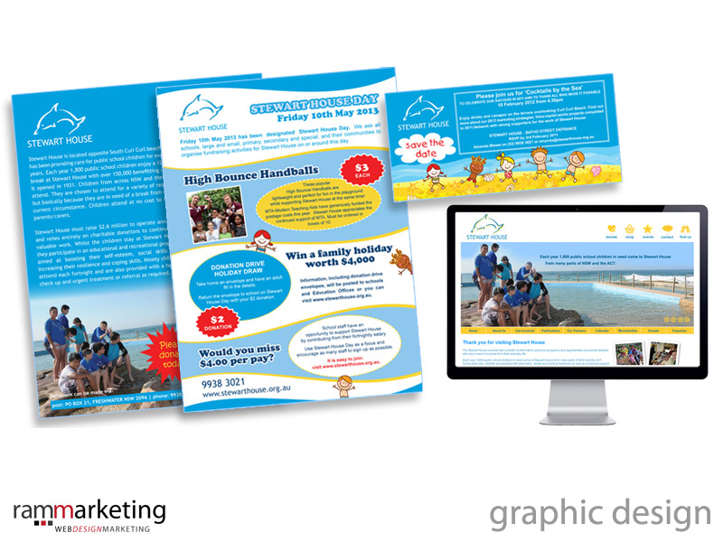 Graphic designer Northern Beaches - Marketing Material