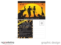 Graphic designer Northern Beaches - Postcard Invitation