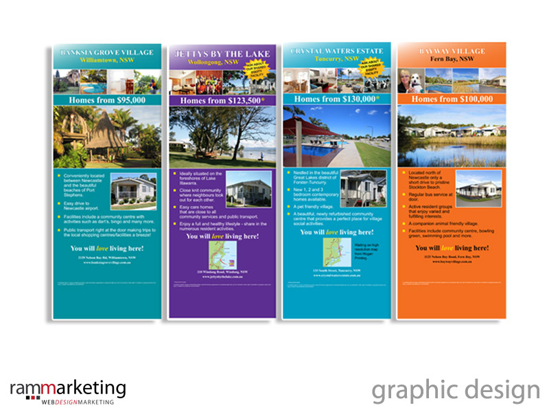 Graphic Designer Northern Beaches - Pull Up Banners