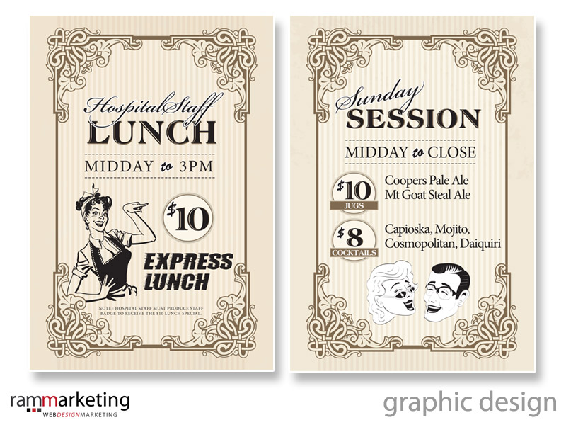 Graphic Designer Northern Beaches - Poster Design