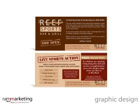 Graphic Design - Restaurant Promotional Material