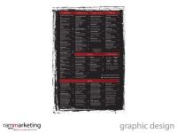 Graphic Design - Restaurant Menu Design