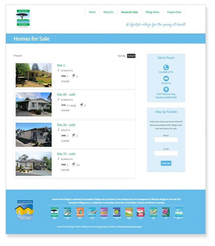 property wordress website design