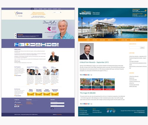 wordpress website design northern beaches