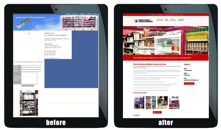wordpress website upgrade sydney