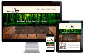 Tradie Website Design – Woodland Flooring