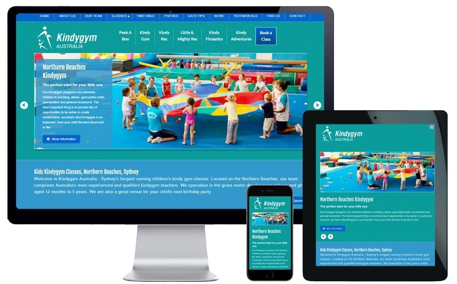 new website design northern beaches
