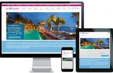 travel agency website design sydney
