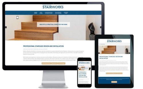 Trade Website Design – Northern Beaches Stairworks