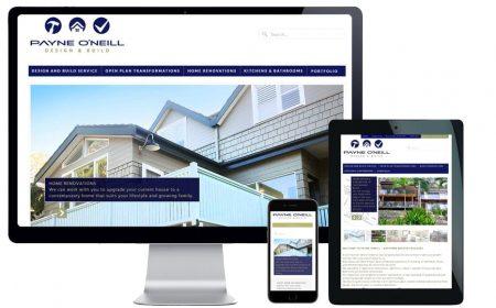 Trade Website Design – Payne O'Neill Building
