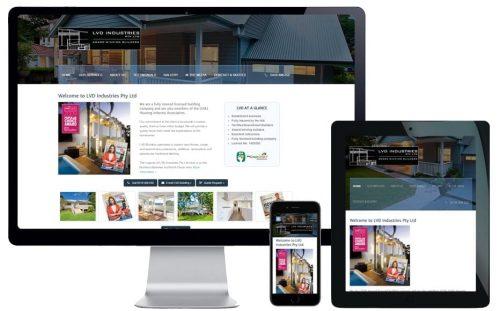 Trade Website Design – LVD Industries Pty Ltd