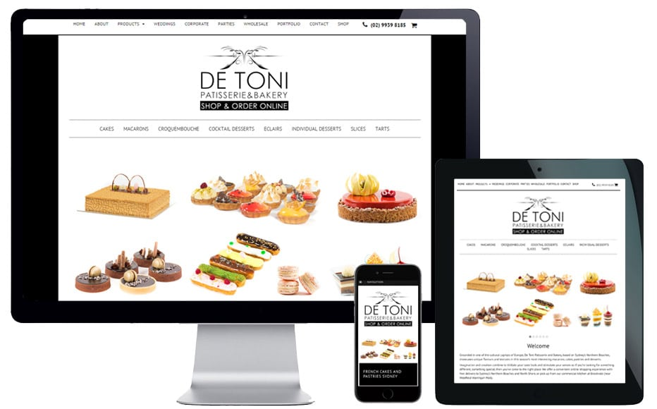 ecommerce website design northern beaches