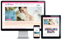 destination wedding web design
