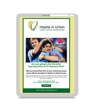 Email Marketing – Hearts in Union