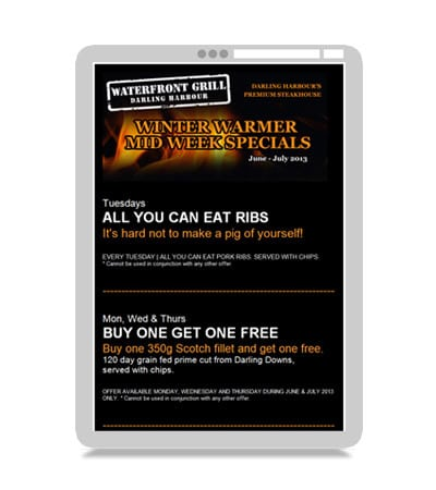 email marketing for restaurants