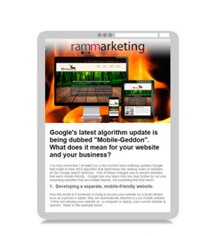 Email Marketing – RAM Marketing