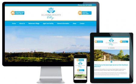 Web Design Northern Beaches – Allambie Heights Village