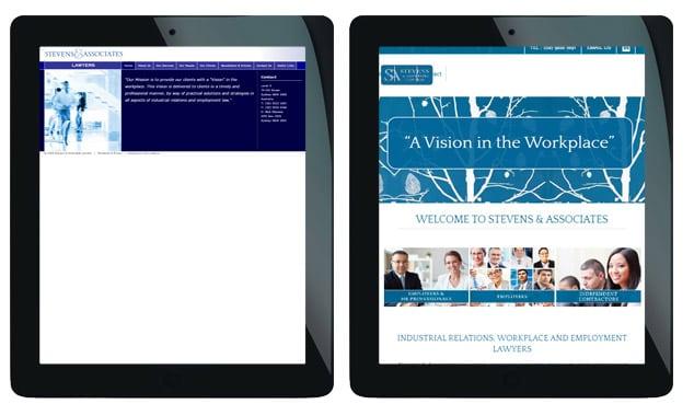 legal practice web design sydney
