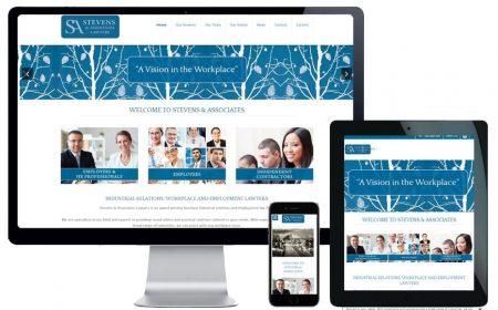Web Design – Stevens & Associates Lawyers