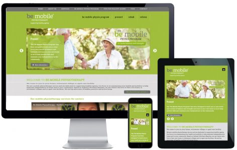 Web Design – Be Mobile Physiotherapy