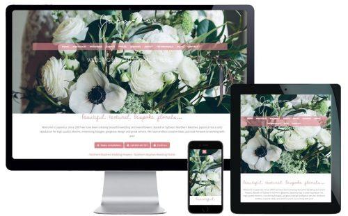 japonica wedding florist