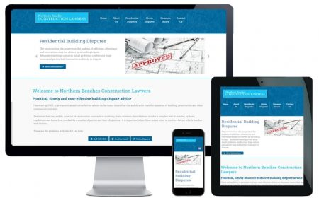 Web Design – Northern Beaches Construction Lawyers