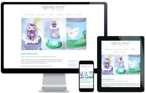 Upgrade Square Space to WordPress – Stylishly Sweet Cakes