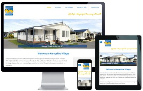 Web Design – Hampshire Property Group
