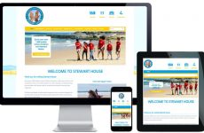 charity website design services
