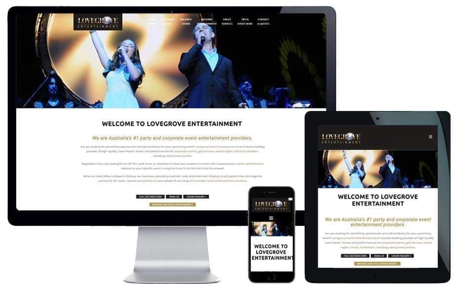 web design mosman