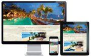 travel website design sydney