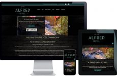 hotel website design sydney