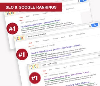 google ranking company northern beaches