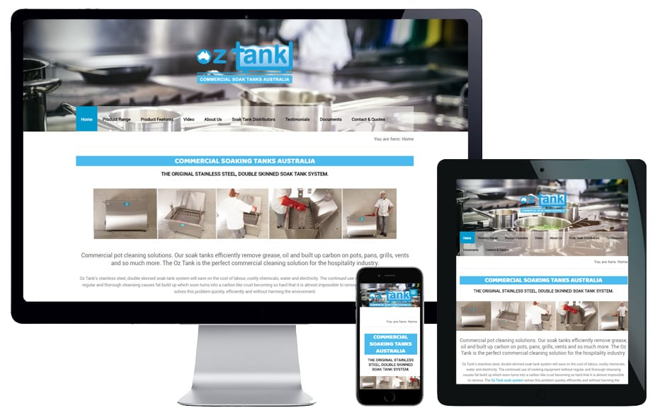 sydney hospitality industry website design services