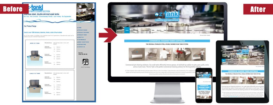 website redesign service northern beaches