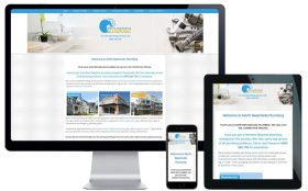 Trade Website Design – North Beachside Plumbing