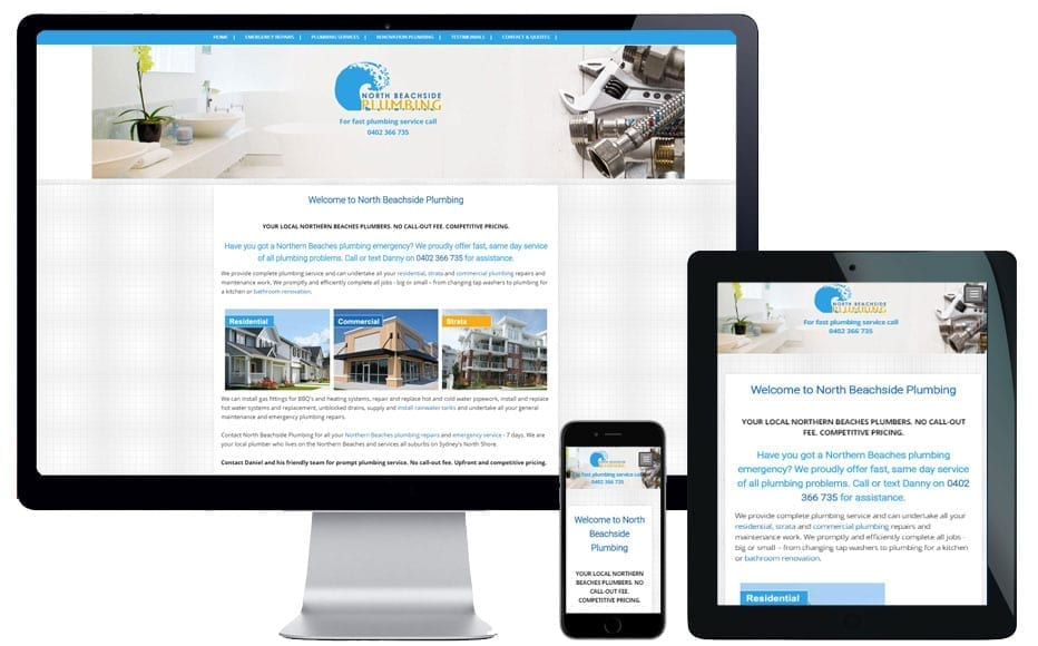 sydney trade website design services