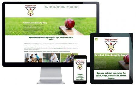 Geoff Spotswood Cricket Coaching