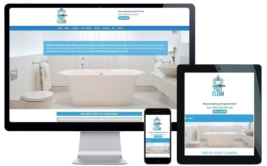website design blacktown
