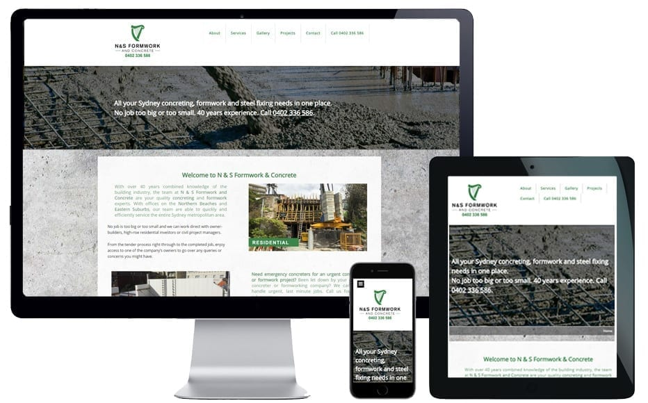website designer frenchs forest