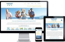 caravan park website design