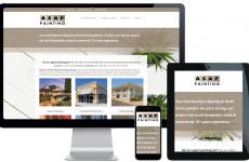 trade business website design