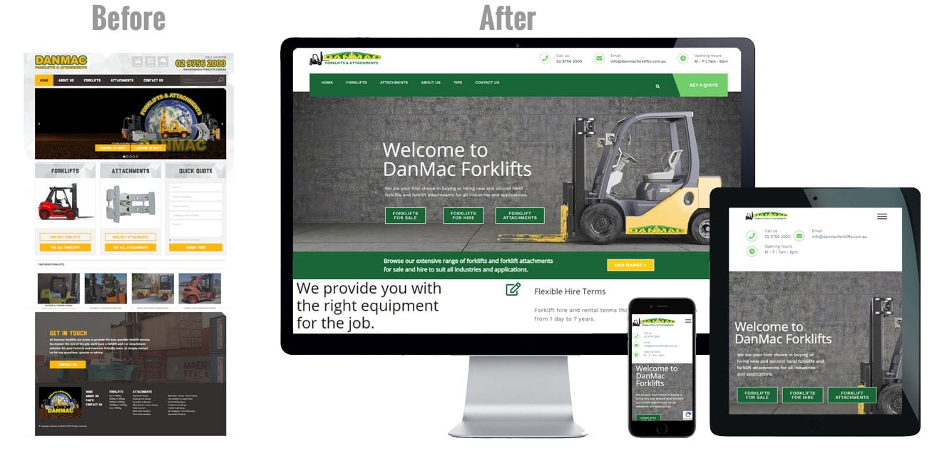 website design company wetherill park