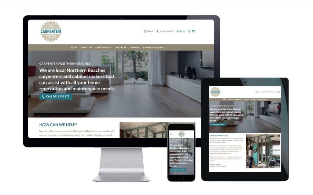 web design service northern beaches 1